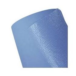 DRAP D'EXAMEN PLASTIFIE BLEU  80cm X200 cm